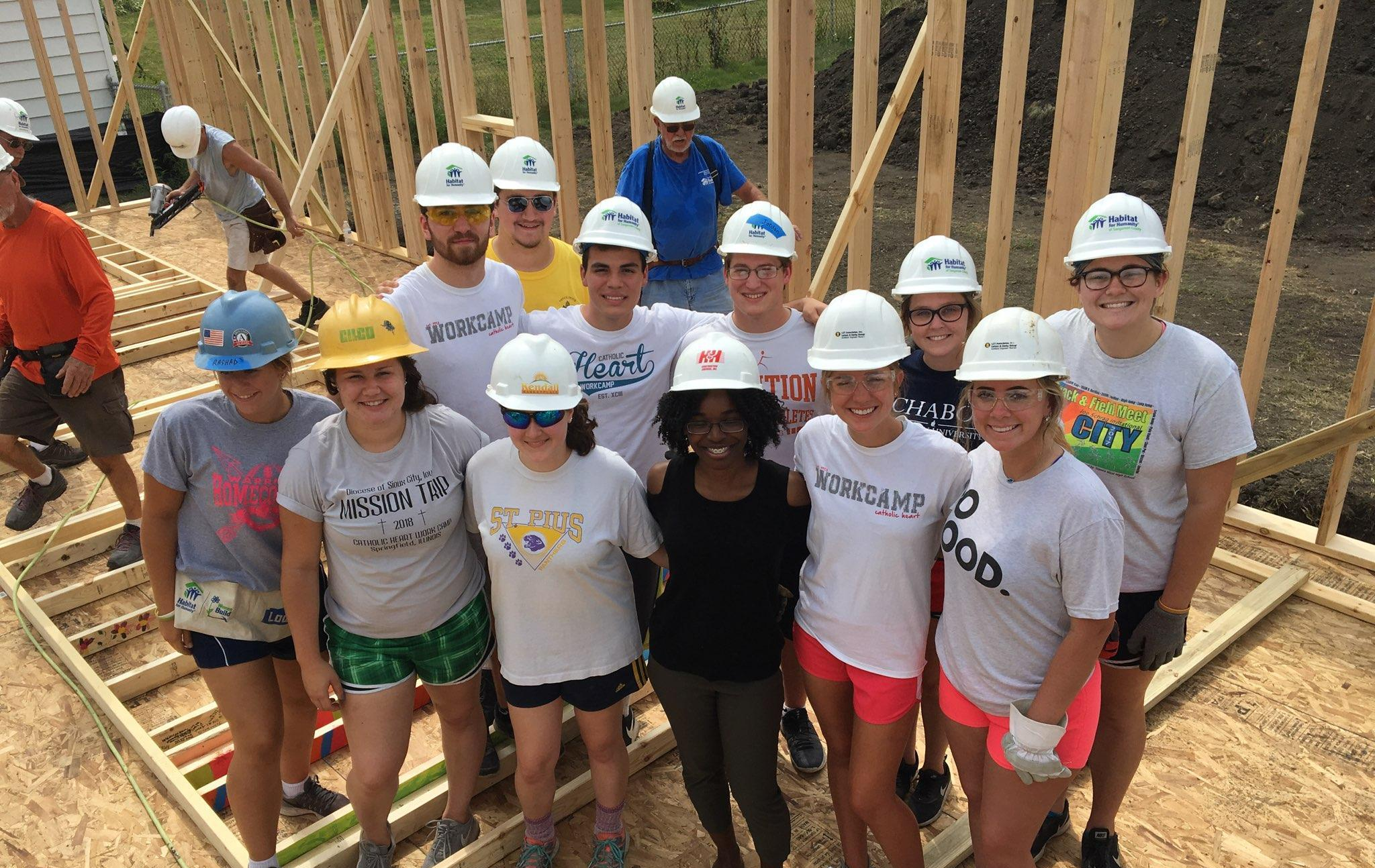 Catholic HEART Workcamp & Disheba Allison