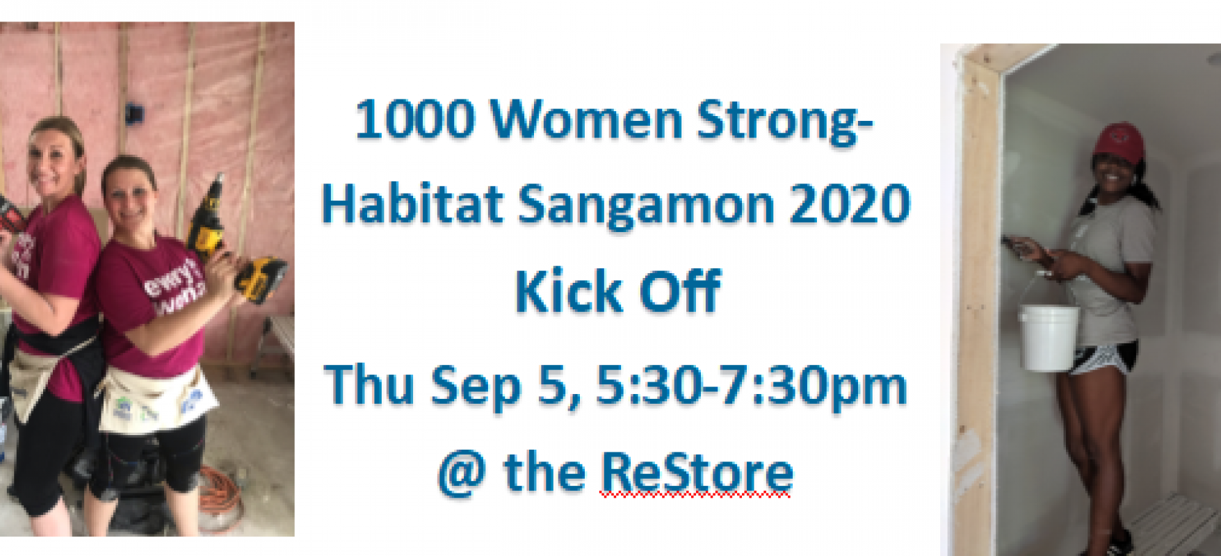 1000 Women Strong-Habitat Sangamon